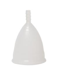 Белая менструальная чаша OnlyCup