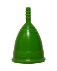 Зеленая менструальная чаша OnlyCup
