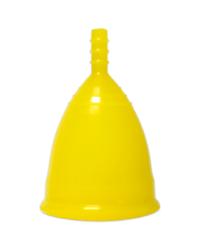 Желтая менструальная чаша OnlyCup