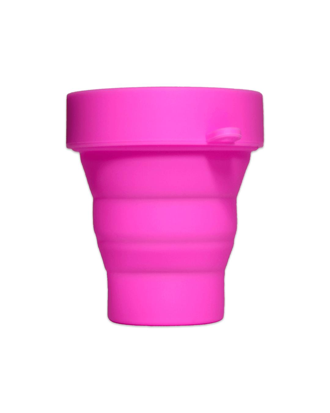 Розовый стакан для стерилизации менструальной чаши